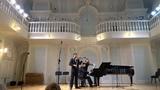 РИХАРД ШТРАУС Соната для скрипки и фортепиано ми бемоль мажор, сочинение 18, ИМПРОВИЗАЦИЯ И ФИНАЛ