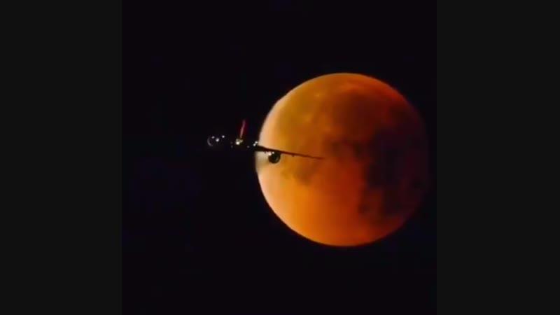 Blood Moon-Kanlı Ay n900nikon flatearth