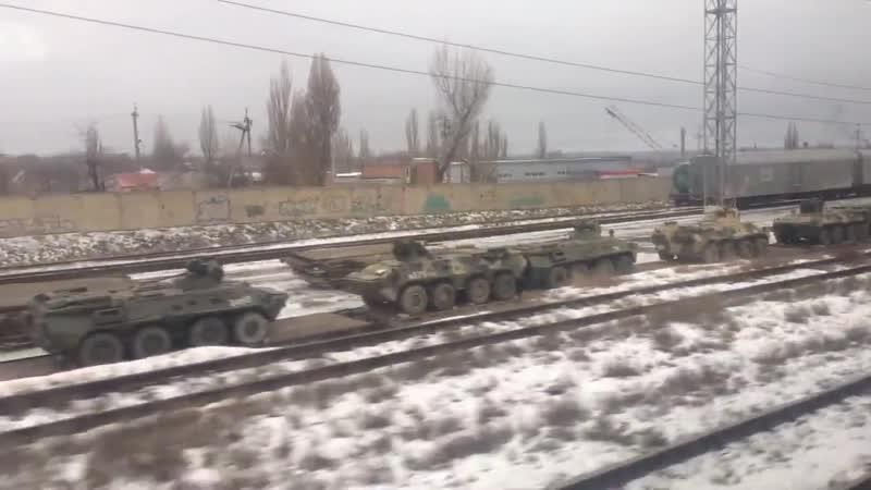 Побита військова техніка в Ростові. Війна з Україною