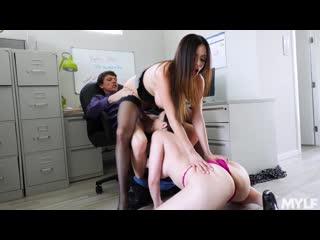 Ariella Ferrera Dana Dearmond Executive Office Creampies MYLF Big Tits Blowjob Milf Mom Th