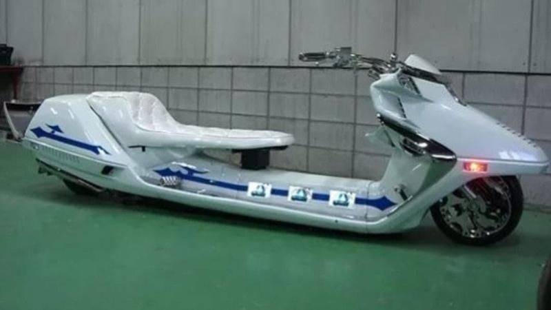 Самый странный скутер в мире Обзор Honda Fusion helix 250 NC 250 MD