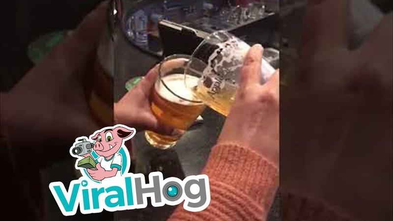Разница между маленькой и большой порциями пива в баре