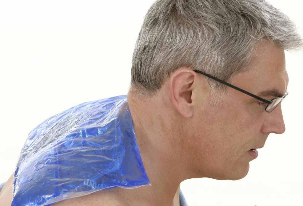 Пакет геля может помочь онемению боли, вызванной поврежденным плечевым сплетением.