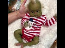 One of a kind silicone baby Grinch