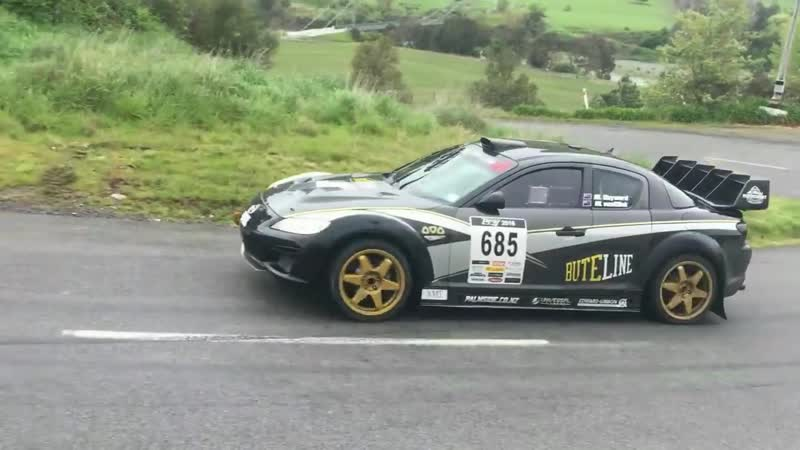 3 Rotor 20b Mazda RX8 __ Screaming Sound RallySprint Monster (1)