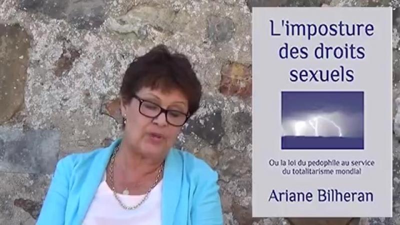 Marion Sigaut : La légalisation de la pédophilie en vue d'en faire une simple orientation sexuelle (3min56s)