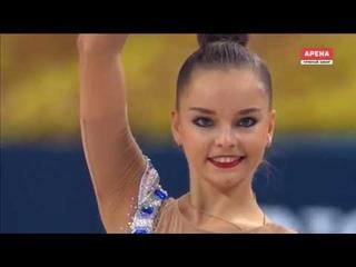 Арина Аверина обруч финал II Чемпионат Мира 2018, София