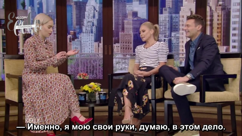 «В прямом эфире с Келли и Райаном», русские субтитры (23.05.2018)