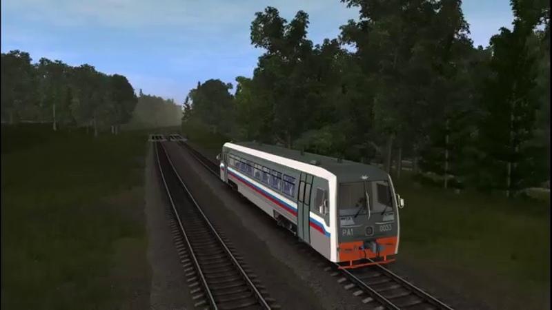 Trainz 2012 С пригородным поездом Солнечная Балезино