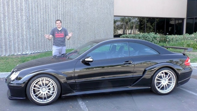 Mercedes CLK DTM это суперкар за $450 000, о котором вы никогда не слышали
