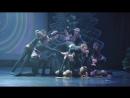 MALINA DANCE STUDIO. Спектакль Пробуждение. 27.12.2017.Действие 2 - По кругу. Хореограф В.Рубаник