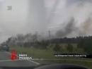 В Аргаяшском районе загорелась иномарка