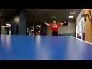 Игра в настольный теннис 1. Евгений Джим