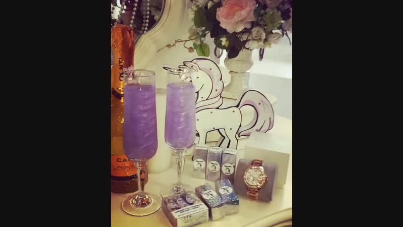 Шиммеры Unicorn Lilas