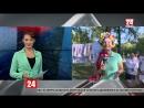 В симферопольском парке имени Гагарина прошло празднование украинских обжинок. С места событий – прямое включение корреспондента