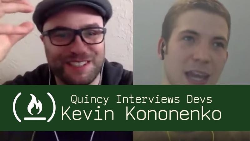 RTFManual.io Founder Kevin Kononenko - Quincy Interviews Devs