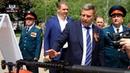 Глава ДНР Александр Захарченко посетил выставку военно промышленного комплекса ДНР