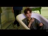 BTS NU'EST W на съёмках клипа на песню Dejavu (11.07.18)