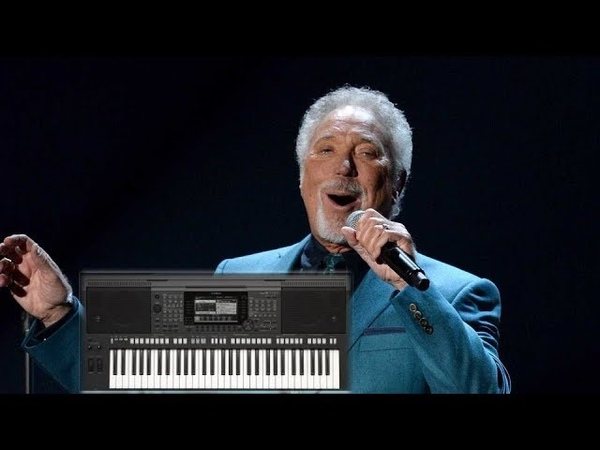 Tom Jones - She's a Lady (YAMAHA PSR-S770)