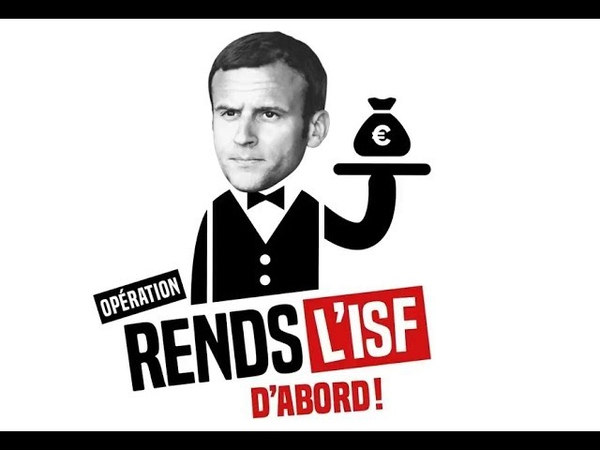 Macron Rend L'impôt Sur la Fortune D'Abord - Je Pense que Ruffin est un Homme Sincère et Honnête