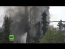 Massive Explosion in Bayernoil Raffinerie löst Katastrophenfall bei Ingolstadt aus Zehn Verletzte