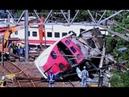 شاهد أول فيديو لكارثة قطار تايوان