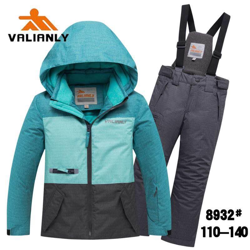 Зимний комплект Valianly 8932 зеленый