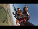 Дарья полет в тандеме с инструктором