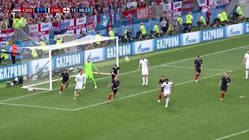 Croacia 2-1 Inglaterra Resumen del partido - FIFA World Cup 2018 (Semifinales)