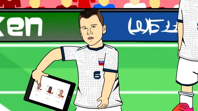 Уругвай Россия 3 0 Обзор матча Мультбол