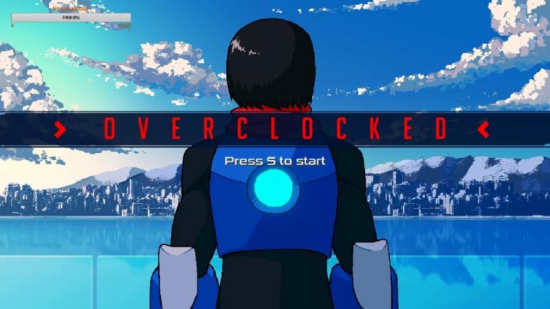 Играем в платформер Overclocked