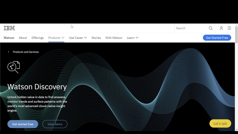 Watson Discovery Demo Connect to the data source you want
