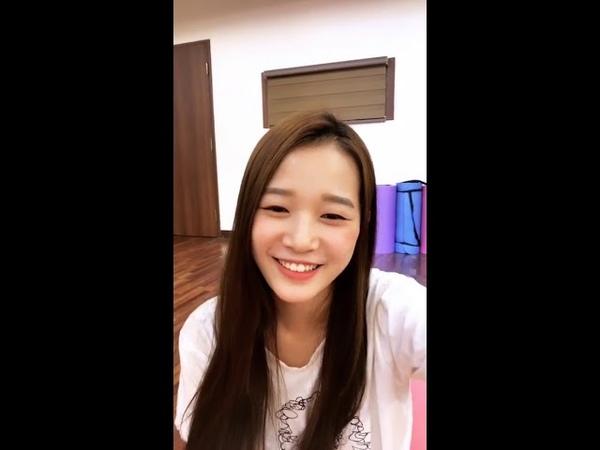 Lime Soda Hyerim (김혜림) Instagram Live [180827]