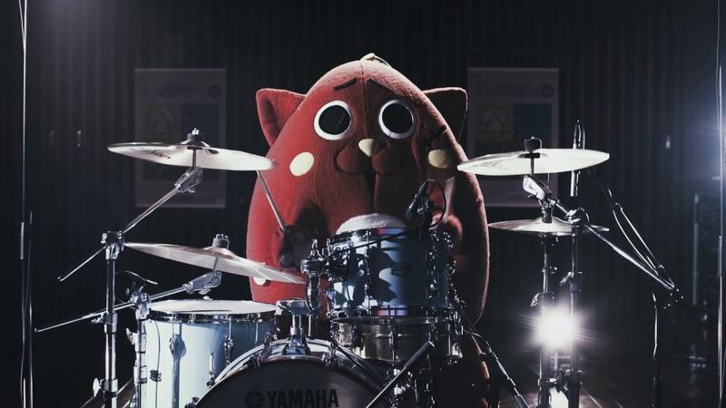 『にゃんごすたーがやってきた』~ヤマハ音楽教室ジュニアスクール<ドラムコース>無料体験レッスン実施中~