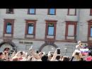 Что творилось у фан-зоны в день открытия чемпионата. г. СПб, 14.06.2018