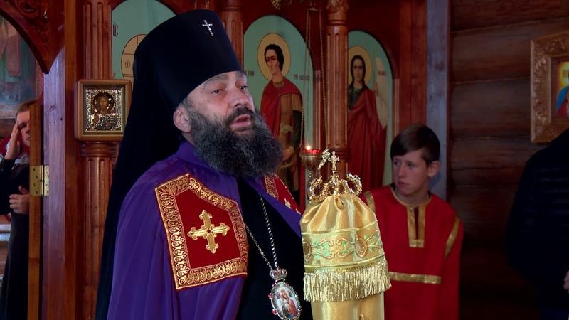 Архиерейское богослужение в Свято-Димитриевском храме п. Каменномостского