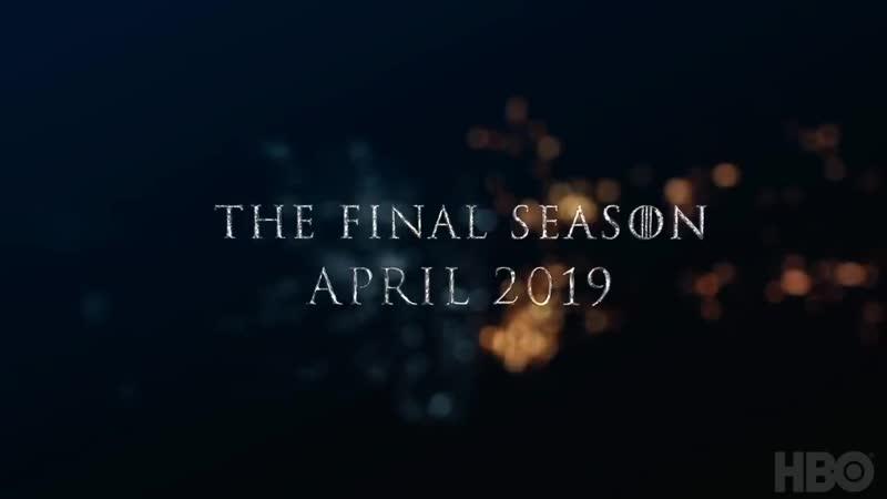 Тизер 8-го сезона Игры Престолов
