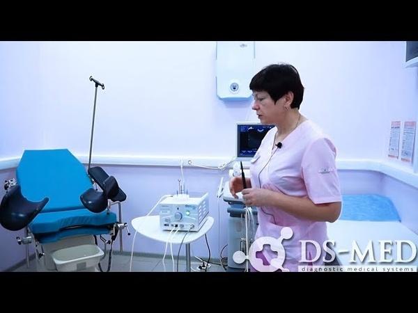 Врачебная практика гинеколога на радиоволновом аппарате Dr. Oppel
