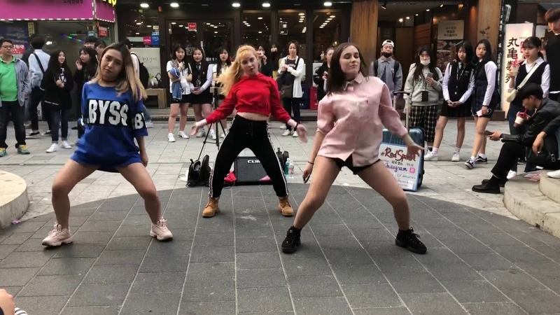 180427 Red Spark (레드스파크) PSY - GENTLEMAN cover dance 홍대 Russia Team