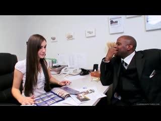 Девушка проходит собеседование | Sasha Grey