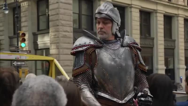 Як Джордж Клуні став лицарем