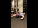 Stephen Amell training