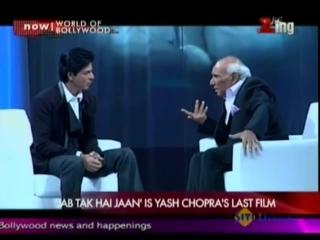 Jab Tak Hai Jaan is Yash Chopras Last Film