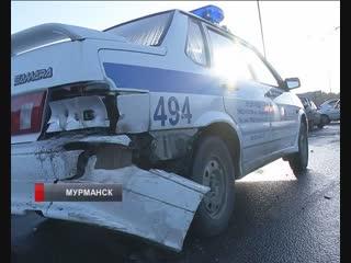 Утро понедельника у многих автомобилистов началось с аварий