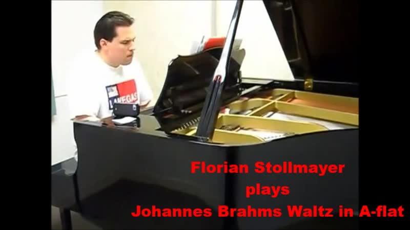 Johannes Brahms Walzer in As Dur Excerpt by Florian Stollmayer Klavier