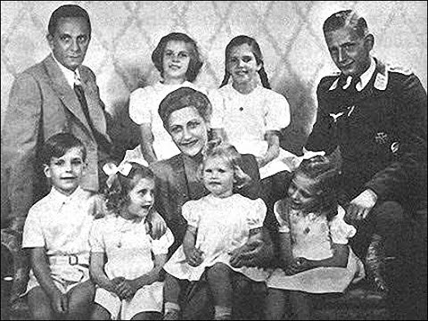 Домашнее видео Пауль Йозеф Геббельса.
