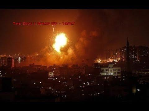 Israel Bombing Gaza While MSM Focuses On Synagogue Shooting, Ignoring Yemen Genocide Russian War