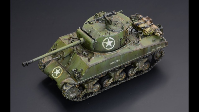 Sherman M4A3 76mm - 172 Dragon
