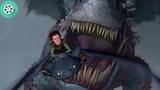 Беззубик против Красного Дракона Смерти. Как приручить дракона (2010) год.
