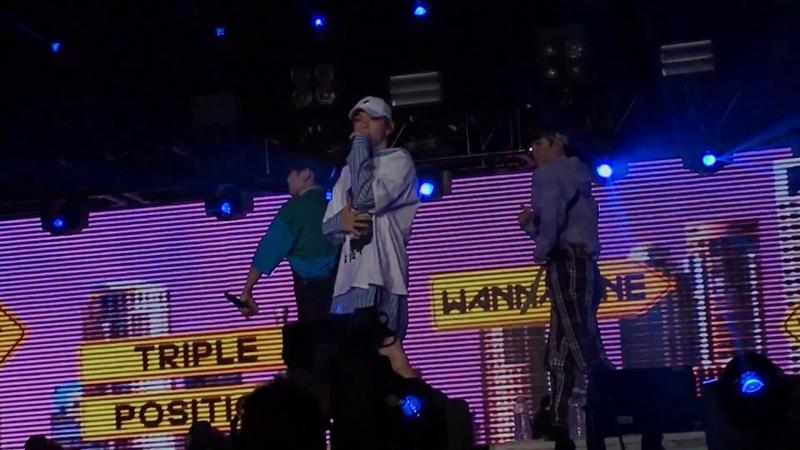 180621 Wanna One One The World in The San Jose Triple Position 캥거루 Kangaroo